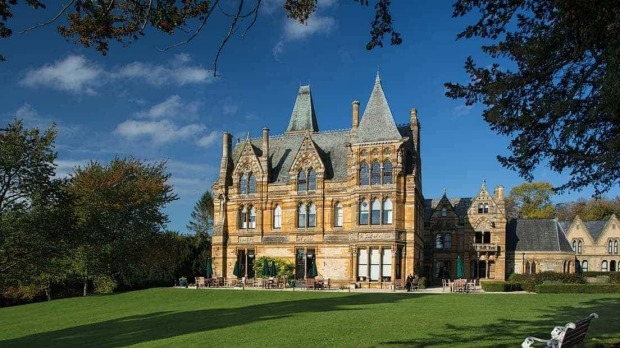 Ettington Park Hotel, England: A Victorian mansion that regularly hosts ghost-hunting programmes and was featured in ...