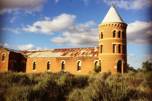 Once Australia's largest winery complex: Mount Ophir Estate.