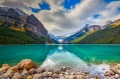 Canada's Lake Louise in Banff National Park is a picturesque spot to visit for lovers of nature.