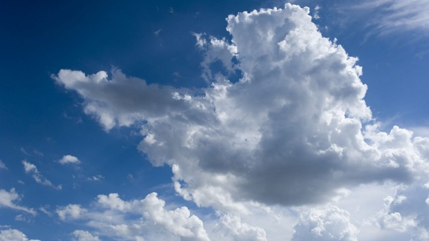 Pilots seek to avoid clouds in favour of clear blue sky but that's not always possible.