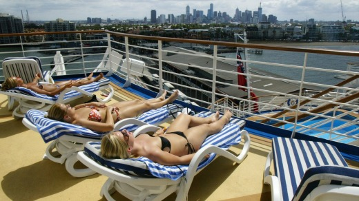 Cruises of the Pacific and Australia are popular with younger passengers.