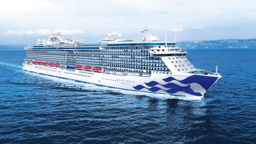 Majestic Princess is the largest Princess cruise ship to base itself in Australia.
