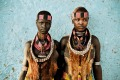 Two young women from the Hamar tribe, in the Turmi area of the isolated South Omo Valley.