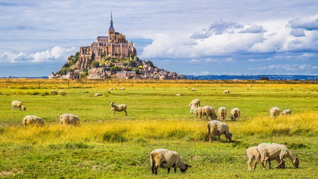 MONT-SAINT-MICHEL, FRANCE This fabulous medieval concoction isn't exactly a mountain, more a huge rock sitting on a bay ...