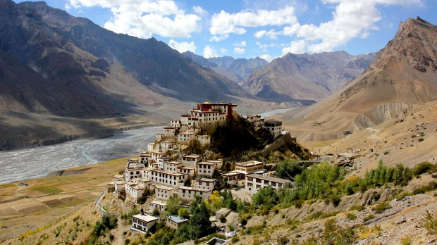 KI MONASTERY, INDIA This Tibetan Buddhist monastery rises from a rock in the Spiti Valley at over 4000 metres in the ...