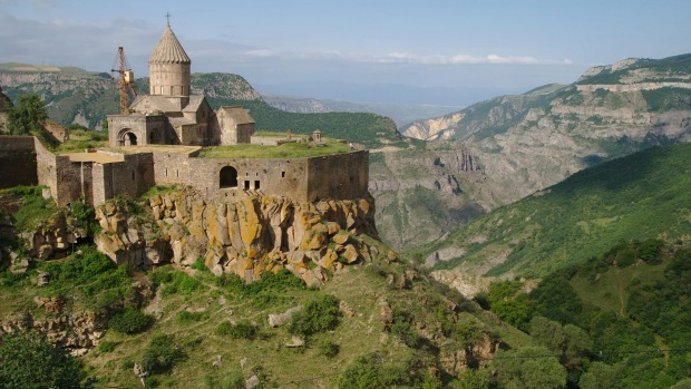 TATEV MONASTERY, ARMENIA Monks always had an eye for remote places and fabulous scenery, and this ninth-century ...