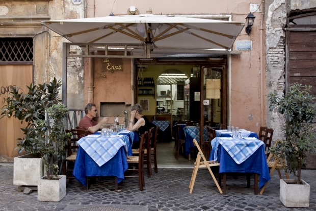 Da Enzo, Rome: This small trattoria, tucked away on a backstreet of Rome's Trastevere neighbourhood, doesn't look like ...