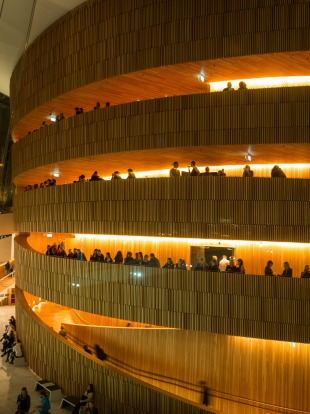 OPERA HOUSE, OSLO: Thanks to its sloping roofs that reach down to the ground, the home of Norway's national opera and ...