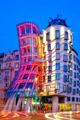 DANCING HOUSE, PRAGUE: Less excitingly known as the Nationale-Nederlanden after the insurance company that paid for it, ...