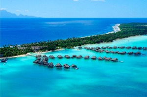 The InterContinental Thalasso Bora Bora.