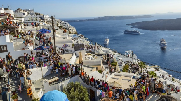 Greece is expecting 32 million tourists in 2018.