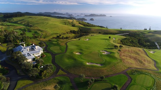 Kauri Cliffs, Northland.