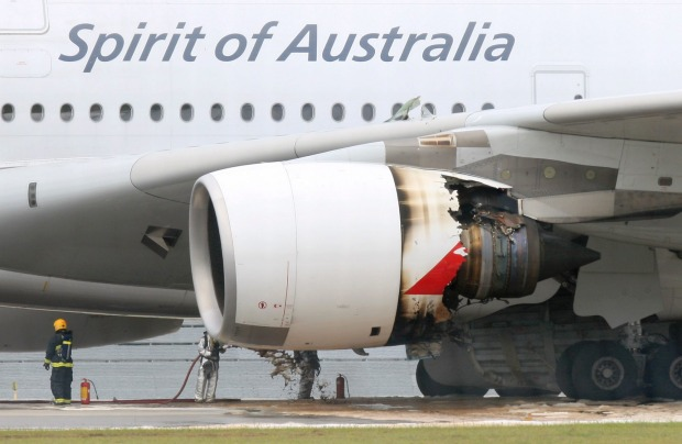 November 2010. In the most serious incident of the A380's history, an engine on Qantas flight QF32 from Singapore to ...