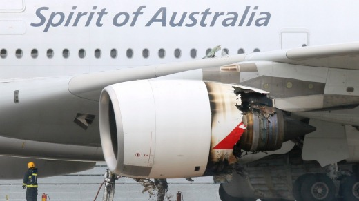 Richard de Crespigny was the captain on board Qantas flight QF32 in 2010, where one of the A380 superjumbo's engines ...