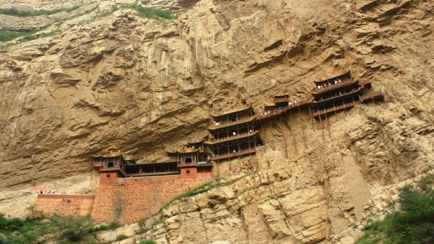 HANGING TEMPLE, CHINA Emperors once favoured the Heng Mountains of Shanxi Province for Daoist retreats. The Hanging ...