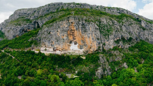 OSTROG MONASTERY, MONTENEGRO The country's most important Orthodox destination inhabits two big caves with an exterior ...