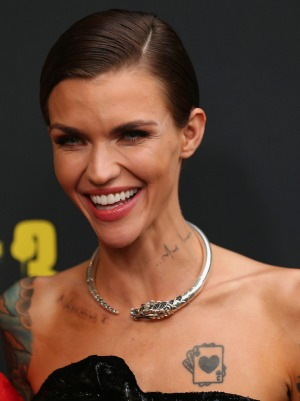 Ruby Rose wears a John Hardy piece at the Australian premiere of <i>Pitch Perfect 3</i>.
