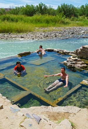 Boquillas Hot Springs, Big Bend National Park, Texas.
