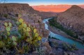 Big Bend National Park in Texas is the largest protected area of Chihuahuan Desert.