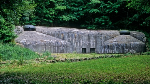 The Maginot Line in Alsace, France.