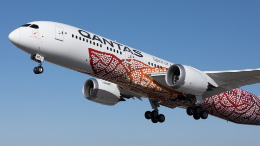 Qantas currently flies Boeing 787 Dreamliners between Perth and London non-stop.