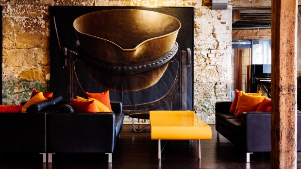 190-year-old face: Henry Jones  is Australia's first art hotel.