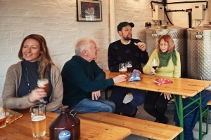 Calverley's Brewery and Taproom brews all its own beer on site.
