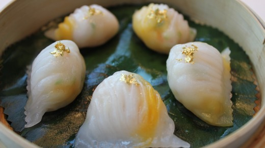 Tin Lung Heen Dumplings The Ritz-Carlton, Hong Kong.