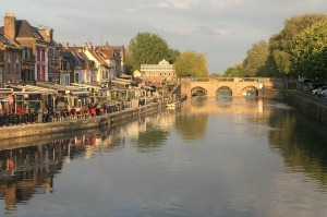 Amiens is a glorious city of canals in northern France and home to one of the world's loveliest and largest Gothic ...