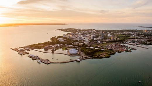 Sea Darwin offer a sunset boat trip around the city.