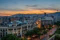 A sunset view of Barcelona, one of the world's most vibrant and avant-garde cities.