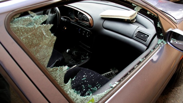 James Norman lost all his luggage in a smash and grab in San Francisco.