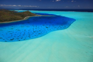Bora Bora Lagoon is breathtakingly beautiful.