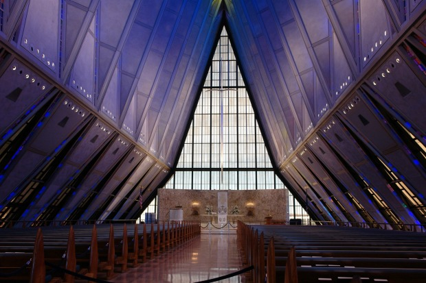 US AIR FORCE CADET CHAPEL, EL PASO: Colorado might be famous for its landscapes, but the state's most visited man-made ...