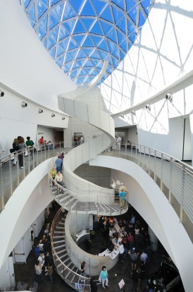 DALI MUSEUM, ST PETERSBURG: If you're building a museum devoted to surrealist Spanish artist Salvador Dali then it had ...