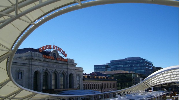 Denver Union Station is a nucleus of trendy bars, coffee shops and restaurants.