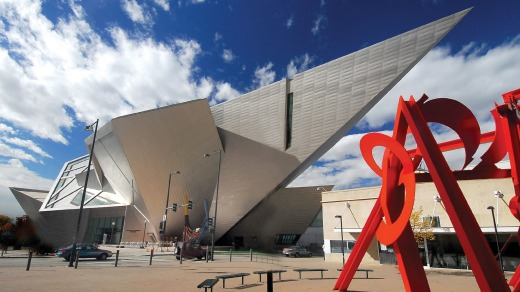 Denver Art Museum contains more than 70,000 diverse works.