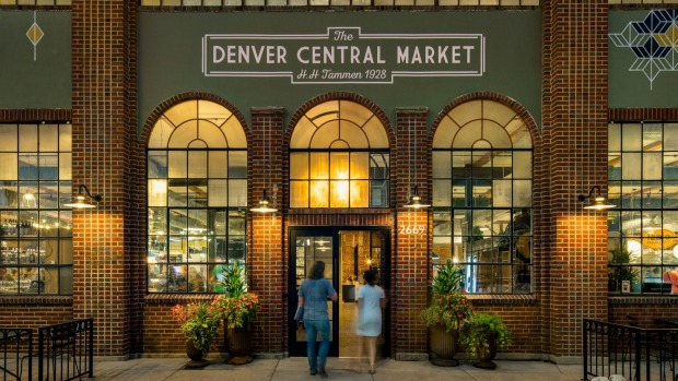 The Denver Central Market is home to a number of independent gourmet purveyors.
