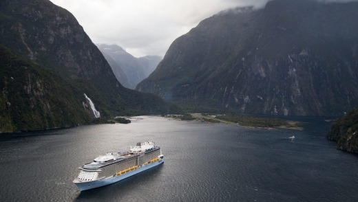The Wedding Planners: New Zealand's Milford Sound.