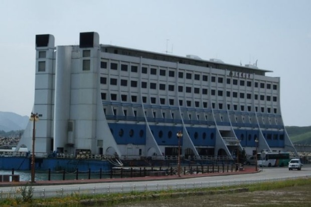Hotel Haegumgang, as it is now known in North Korea.