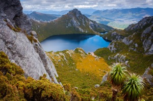 Visiting Lake Oberon in Tasmania's Southwest National Park is one of the highlights of the Pedder Experience.