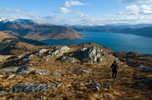 The Knoydart Peninsula, Scotland: Knoydart has roads. The problem is that they're not connected to the other roads in ...