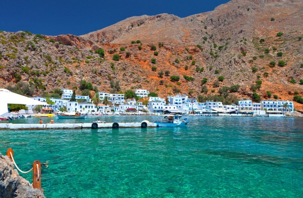 Agia Roumeli, Greece: In the south of Crete, Agia Roumeli has some darned fine beaches. But it has avoided being ...