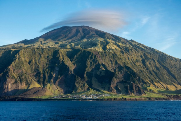 Tristan da Cunha: Sure, lots of islands are technically only accessible by boat, but it tends to be a short ferry hop ...