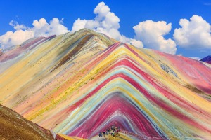 Southern Peru's Rainbow Mountain (or Vinicunca).