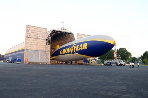 Goodyear Wingfoot Three rolls out.