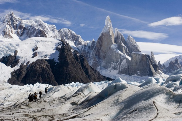 CERRO TORRE (ARGENTINA) The Andes are arguably the most dramatic mountains on earth, blasted and scoured into outrageous ...
