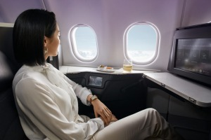 Virgin's The Business on an Airbus A330.