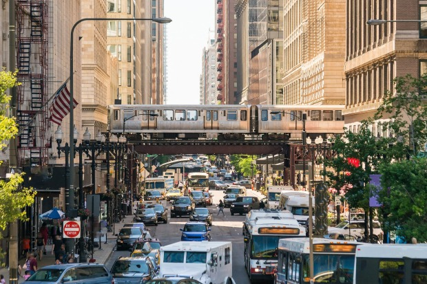 6. CHICAGO, USA: Much of Chicago's L network isn't underground at all, and what makes it viscerally cool is that it ...