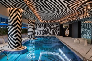 While Brisbane's CBD is just outside, you may not want to leave the W Hotel Brisbane.
